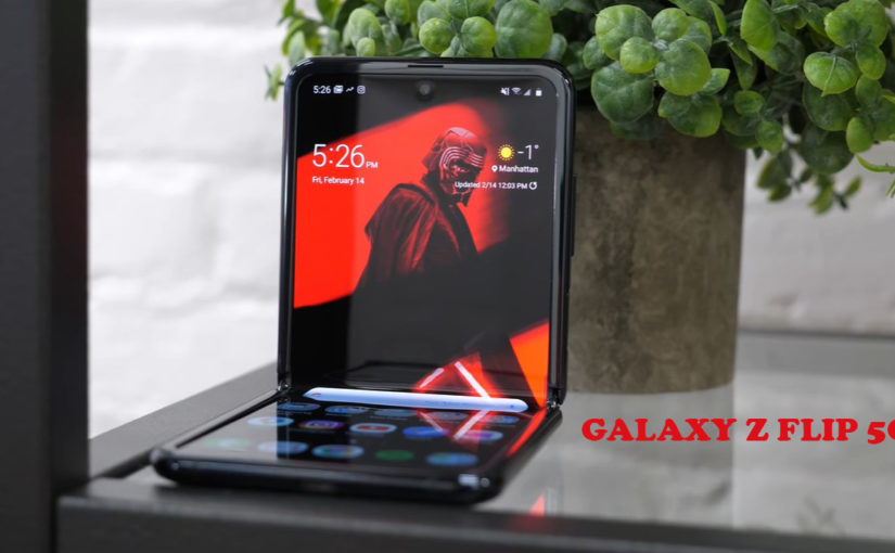 The Galaxy Z Flip 5G Comes Sooner