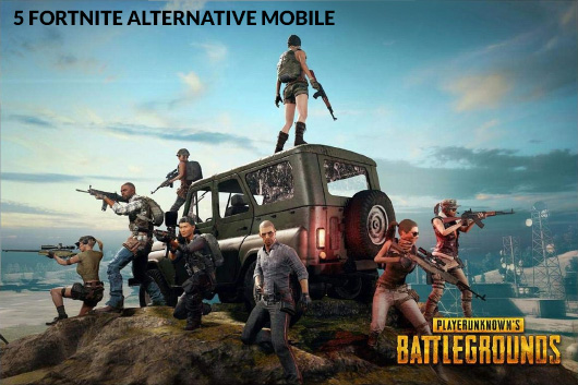 5 Fortnite alternative mobile games