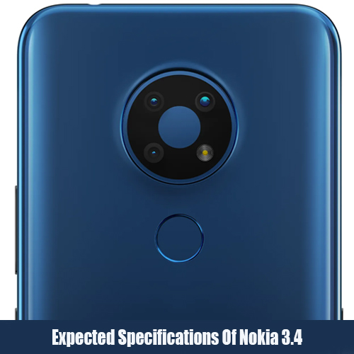 Expected Specifications Of Nokia 3.4
