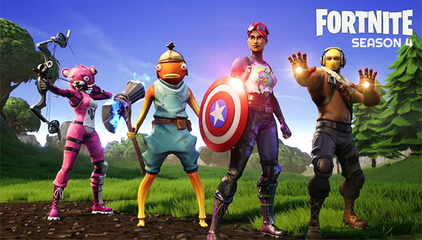 Fortnite season 4 is coming