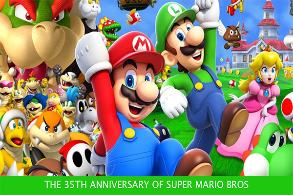 Nintendo - The 35th anniversary of Super Mario Bros
