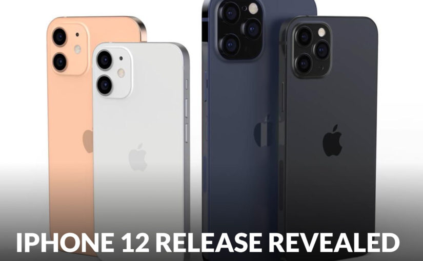 Apple: New iPhone 12 Release Revealed