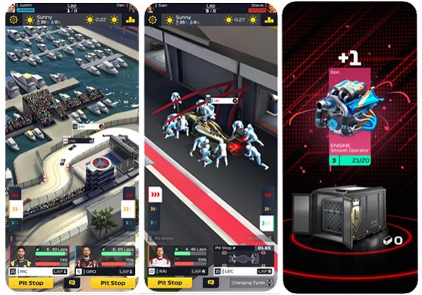 F1 Manager best iOS games