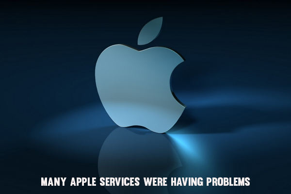 Many Apple Services Were Having Problems Tuesday Night, 29 September