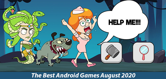 Best Android Games August 2020: Save The Lady; Mr Shoot And More