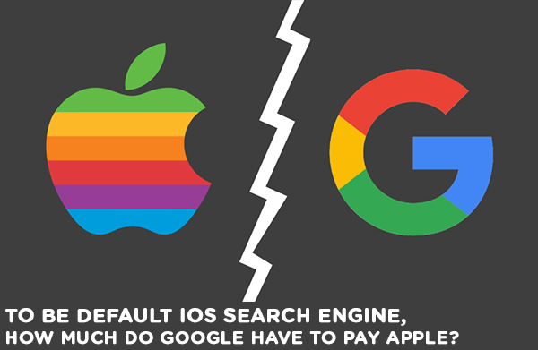 To be Default iOS Search Engine, How Much Do Google Have To Pay Apple?