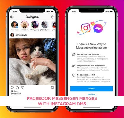 Facebook Messenger Merges with Instagram DMs