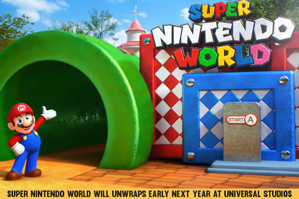 Super Nintendo World Will Unwraps Early Next Year At Universal Studios Japan
