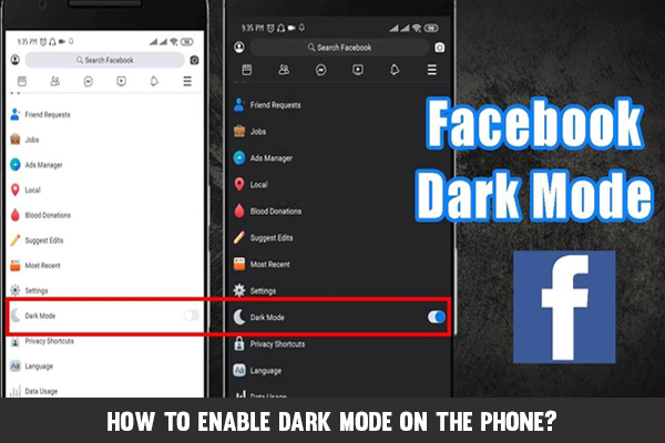 Dark Mode on Facebook's Mobile App Is Being Tested Extensively