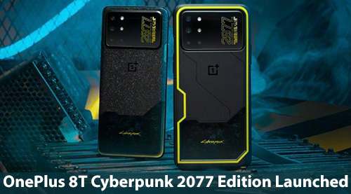 Cyberpunk 2077-Themed Transforms The Look Of The OnePlus 8T