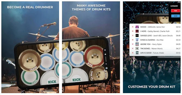 Real Drum Simulator Dolby On Best Free Android Apps Released In 2020