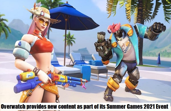 Overwatch provides new content as part of its Summer Games 2021 Event