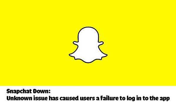 Snapchat Down: Unknown issue has caused users a failure to log in to the app
