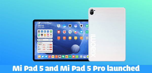 Mi Pad 5 series launched: Key spec, features, and price