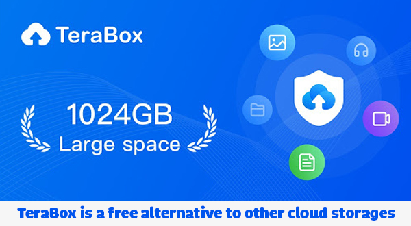 TeraBox is a free alternative to other cloud storage solutions