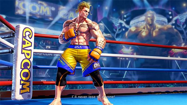 The Kickboxer Luke – Street Fighter V's Last New Character
